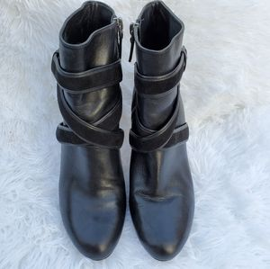 Cole Haan, Leather Ankle Boots